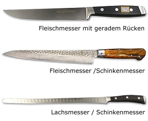 Fleischmesser / Schinkenmesser