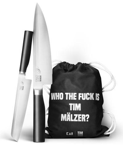 Kai Tim Mälzer Kamagata 2-teiliges Messerset mit Rucksack